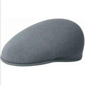 Kangol Wool Cap 504 Mens Petrol blue 100% Wool